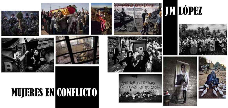 Resultado de imagen de exposicion mujeres en conflicto